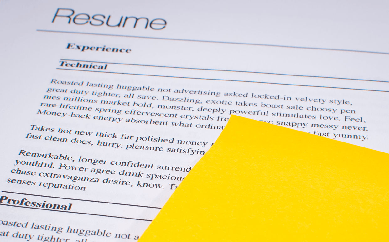 Refresh Your Resume
