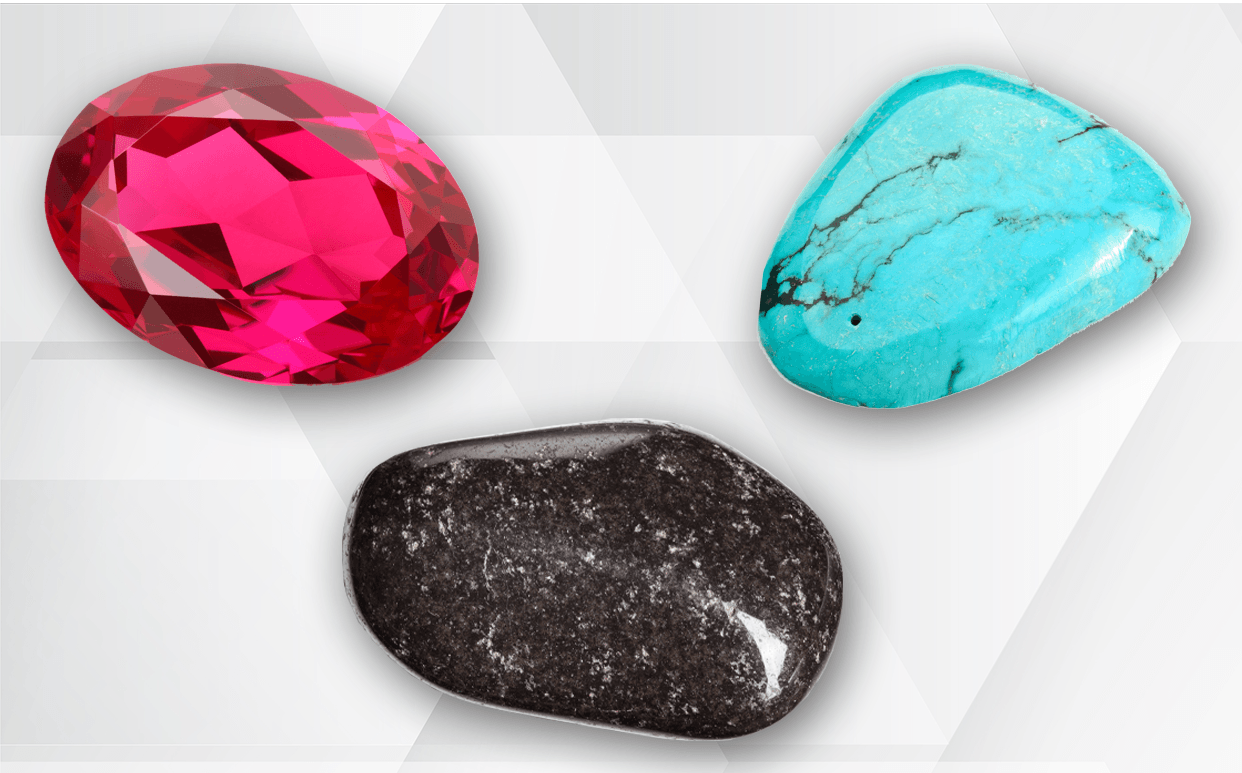 July's Jazzy Trio of Birthstones