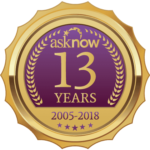 AskNow - 13 Years - 2005-2018